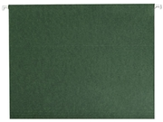 Smead 64010 Hanging File Folders, Untabbed, 11 Point Stock, Letter, Green, 25/Box