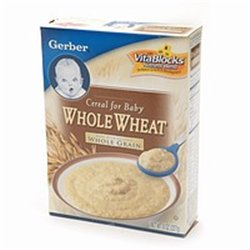 Gerber Harvest Grain Whole Wheat Cereal 8 oz