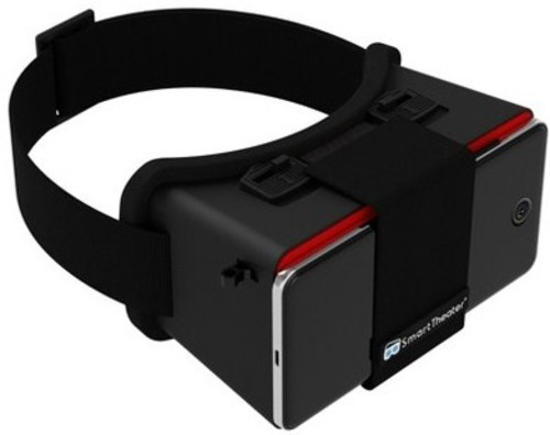 Smart Theater 862628000202 Virtual Reality Headset For Smartphones - Black