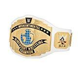 WWE AUTHENTIC WEAR White Intercontinental Championship Commemorative Title Belt (2014)