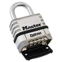ProSeries Stainless Steel Easy-to-Set Combination Lock