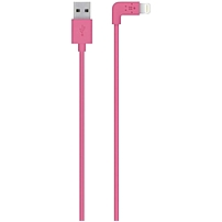 Belkin F8j147bt04-pnk Mixit Sync/charge Lightning Data Transfer Cable - Lightning - 3.94 Ft - Lightning Proprietary Connector - Pink