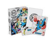 Dc Comics Originals Dc Comics Playing Cards