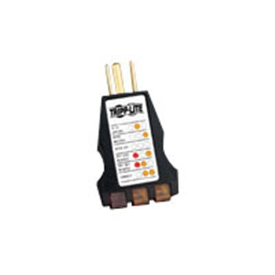 Tripplite Ct120 Instant-read Ac Outlet Circuit Tester With Diagnostic Leds