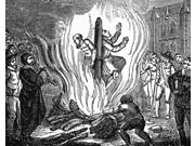 Nicholas Ridley (1500-1555) Nenglish Religious Reformer And Protestant Martyr The Burning Of Bishops Nicholas Ridley (left) And Hugh Latimer At The Stake Near T