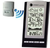 Ambient Weather WS-1173 Wireless Advanced Weather Station with Temperature, Dew Point and Barometer