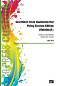 Custom: Selections From Environmental Policy Custom Edition (kalmbach)