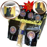 cgb_119255_1 Florene Famous Art - Picture Of Gustav Klimt Painting The Kiss II - Coffee Gift Baskets - Coffee Gift Basket