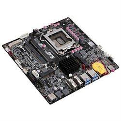 ECS B75H2-TI(1.0A) - Intel B75 Express Chipset Socket LGA1155 2 X Mini PCI Express HDMI USB Mini-ITX