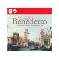 Benedetto Marcello: 6 Sonatas for Cello and Basso Continue (Music CD)