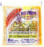 Great Northern Popcorn Premium 8 Ounce Popcorn Portion Pack of 24
