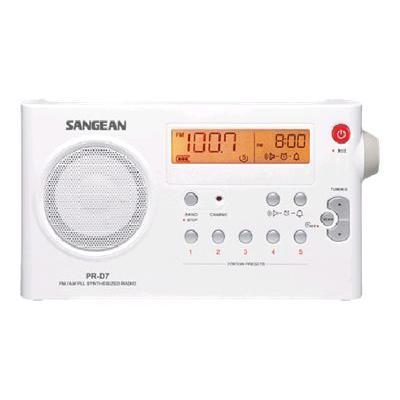 Sangean Pr-d7 R-d7 - Clock Radio