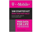 T-mobile 610214635419 Complete Sim Starter Kit - No Contract Network Connection
