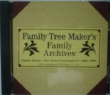 Family History: New Jersey Genealogies #1, 1600s-1800s CD#182