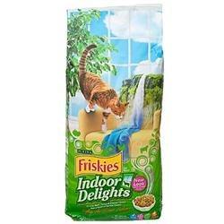 Friskies Indoor Delights Adult Dry Cat Food
