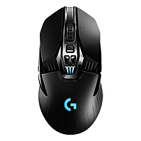 Logitech G900 Chaos Spectrum Professional-grade Wired/wireless Gaming Mouse - Optical - Cable/wireless - Radio Frequency - Usb 2.0 - 12000 Dpi - Desktop Computer - Tilt Wheel - 11 Button(s) - Symmetrical 910-004558