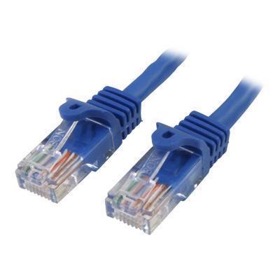 Startech.com Rj45patch15 15 Ft (4.6 M) Snagless Cat 5e Patch Cable - Blue