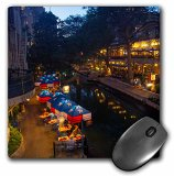 Danita Delimont - Chuck Haney - Walkways - The Riverwalk at dusk in downtown San Antonio, Texas, USA - Mouse Pads (mp_190194_1)