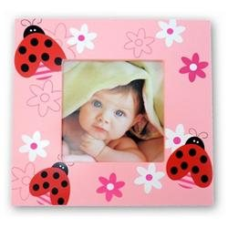 Puzzled 9553 Fun Frames - Ladybug Frame 4 in. x 4 in.