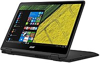 The Acer NX.GK4AA.001 SP513 51 51PB Spin 2 in 1 Convertible Laptop PC with a long battery life which provides hours of recreation on the go.