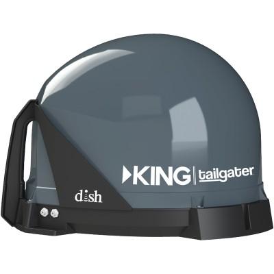 King Controls Vq4500 Tailgater Portable Satellite Antenna