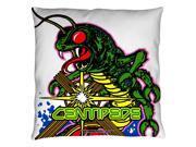 Trevco Atri125-plo3-14x14 Atari & Centipede Throw Pillow, White - 14 X 14 In.