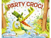 Party Croc! Binding: School And Library Publisher: Albert Whitman & Co Publish Date: 2015/03/01 Synopsis: In this retelling of a Shona folktale from Zimbabwe, a girl promises a crocodile that he can come to a party in exchange for a favor, but since crocodiles aren't allowed in the village, she doesn't expect she'll have to keep her promise