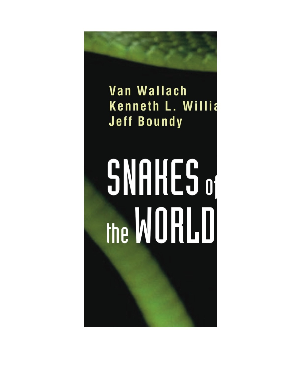 Snakes Of The World (ebook)