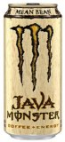 Java Monster Coffee Energy Drink, Mean Bean, 15 Ounce (Pack of 12)