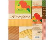 Recipes 3-ring Scrapbook Kit-5