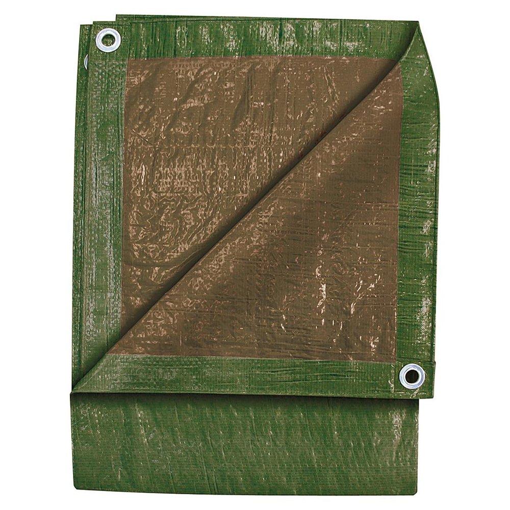 TEKTON 9' x 12' Green/Brown Tarp