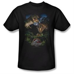 Mens JURASSIC PARK Short Sleeve HAPPY FAMILY XXXLarge T-Shirt Tee