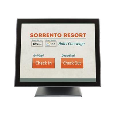 Planar 997-7414-00 Pt1745p - Led Monitor - 17 (17 Viewable) - Touchscreen - 1280 X 1024 - 225 Cd/m² - 1000:1 - 5 Ms - Vga - Speakers - Black
