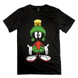 Men's New Style Marvin The Martian Nope T Shirt XXL Black