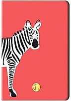 Dabney Lee Ipa4119-bb-co Zebra Case For Ipad Air 2 - Red, Teal