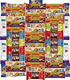 Ultimate Healthy Bar & Office Snacks Gift Variety Pack Bulk Sampler (Care Package 50 Count)