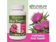 Trunature Milk Thistle 200 Mg, 300 Softgels