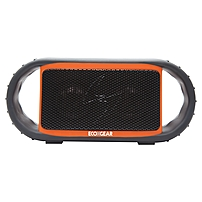 Grace Digital Ecoxgear Ecoxbt Gdi-egbt500 Rugged And Waterproof Wireless Bluetooth Speaker (orange) - 135 Hz - 17 Khz - Bluetooth - Usb - Handle, Mute, Floatable, Led Indicator, Rugged Design, Built-in Microphone, Carabiner