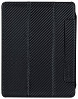 The Tunewear IPAD3 CARBON 01 CarbonLook Case s protective case for iPad with a stylish carbon fiber pattern