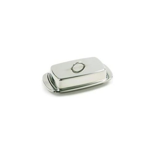 Norpro Double Covered Butter Dish Stainless Steel 282