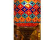 Posterazzi Pddas37dgu0210 Stained Glass Lamp Vendor In Spice Market Istanbul Turkey Poster Print By Darrell Gulin - 18 X 26 In.