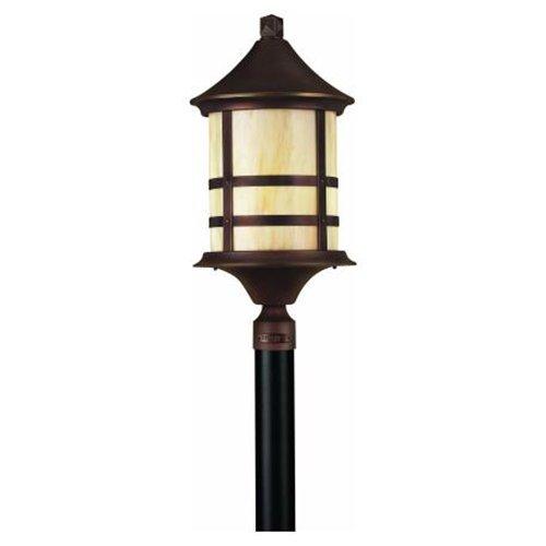 Oak Park Post Lantern in Copper Bronze