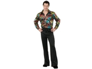 Black Disco Pants Adult Age: Adult Gender: Unisex Size: 32 Theme: Historical Historical Period: 1970s Culture: American Occasion: Halloween Color: As Shown