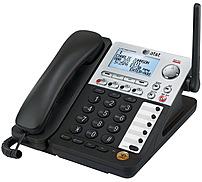 At&t Synj Sb67148 4-line Cordless Phone - Dect 6.0 - Lcd Display - Caller Id/call Waiting