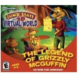 Jump Start Legend Of Grizzly Mcguffin Educational Computer