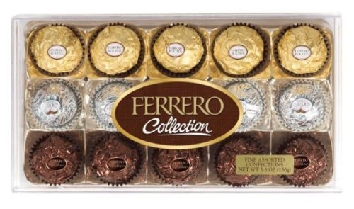 Ferrero Collection Rectangle Gift Box (5.5 Oz)