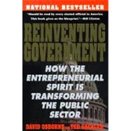 Reinventing Government : The Five Strategies for Reinventing Government
