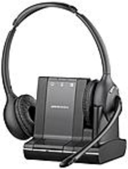 Plantronics W720-m Over-the-head, Binaural (microsoft) - Stereo - Wireless - Dect - 350 Ft - Over-the-head - Binaural - Supra-aural - Noise Cancelling