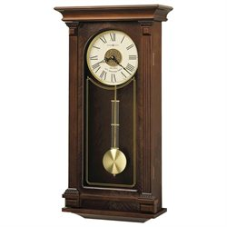 Howard Miller Sinclair Wall Clock with Triple-chime Harmonic Movement