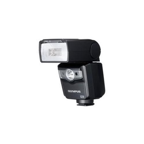 Olympus Electronic Flash FL-600R - FP TTL-AUTO, FP MANUAL, Automatic, TTL-AUTO, Manual - Guide Number 12 m/118.1 ft, 17 m/164 ft - 30 - 1 W Lamp Power - 4 x Batteries Supported - AA - Shoe Mount